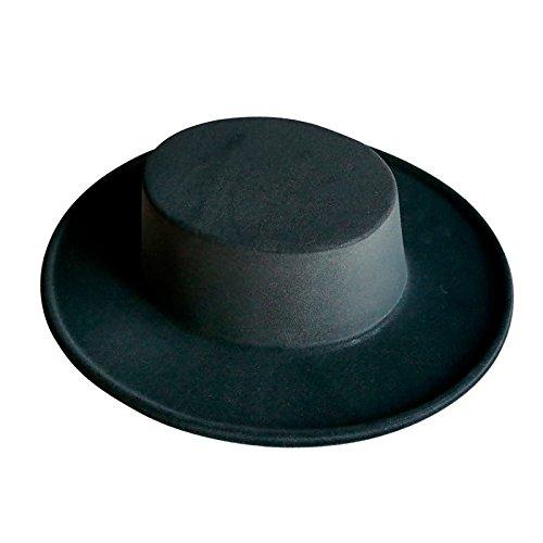 Berretti Eurocarnavales Sombrero cordobes nero Caschi e Diademi Cappelli