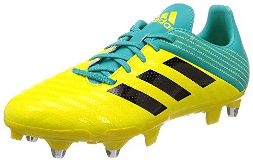 adidas Malice (SG), Zapatillas de Rugby para Hombre, Amarillo (Amasho/Negbás/Agalre 000), 48 EU