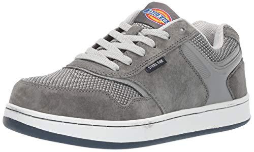 Dickies Men's Shredder Steel Toe EH Industrial Shoe, Gray, 8.5 Medium US
