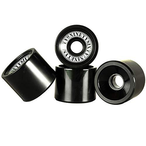 Ninetysixty Longboardwheel Black 69mm/78a Rollen