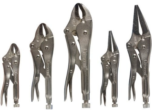 Crescent 5-Piece Locking Plier Set