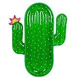 WZXHN 180cm Cactus Gigante Anillo de natación reclinable Inflable Flotador de Piscina Juguetes de Fiesta de Agua Blowup Fruit Floatie Colchón de Aire Playa Tumbona-Cactus