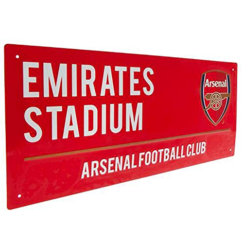 Official Licensed Arsenal FC Metal Street Sign RD