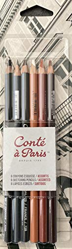 """Contè À Paris - 6 Matite """"Schizzo"""""""