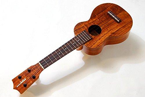 【KAMAKA】HF-1カマカソプラノウクレレ(ハワイアンコア材単板ハワイ産ハードケース付)