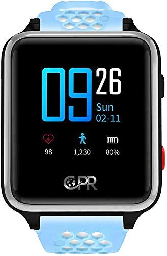CPR Guardian II Smartwatch Für Kinder, die Unabhängigkeit und Eltern wollen, die wissen, DASS sie jederzeit sicher sind. Standort-Tracker für Eltern, SOS-Taste für Notfälle