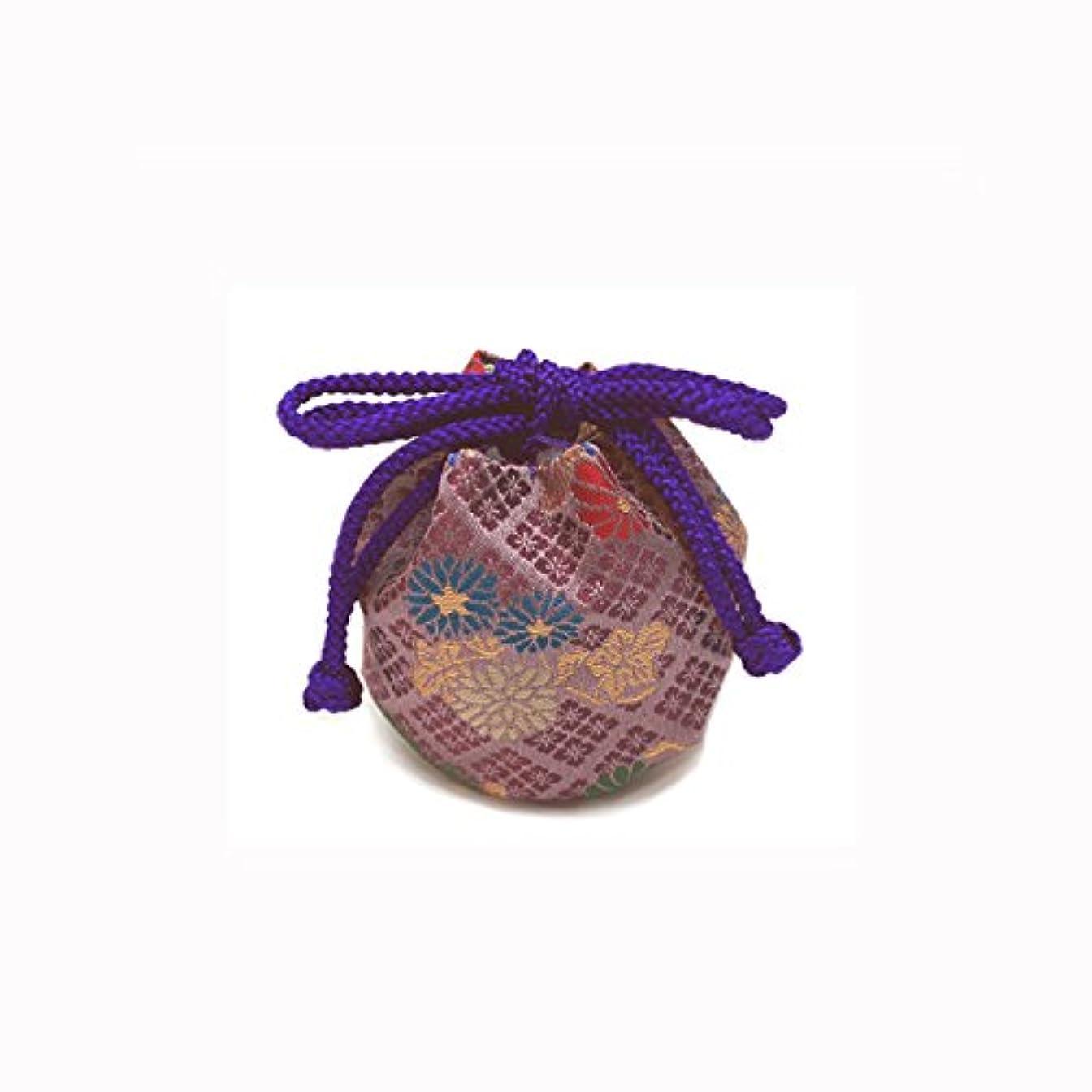 スプレー飢ブローホール御所袋 小 キンラン 紫系