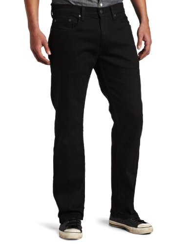 Levi's Men's 559 Relaxed Straight Fit Jean - 38W x 32L - Black - Stretch