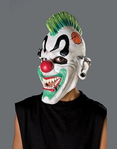 Punk039;d Clown Mask Costume Accessory