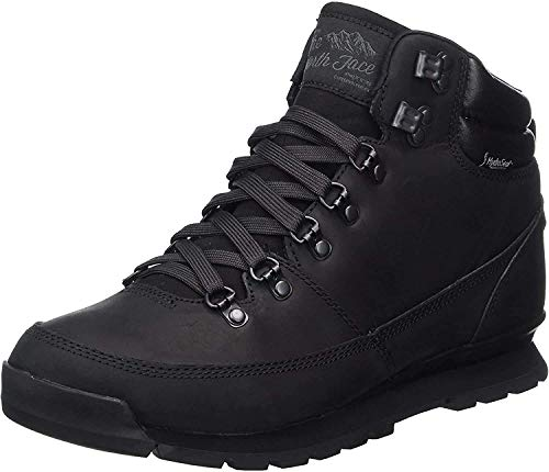 The North Face Back To Berkeley Redux Leather, Stivali Uomo, Nero (Tnf Black/tnf Black/tnf Black), 44 EU