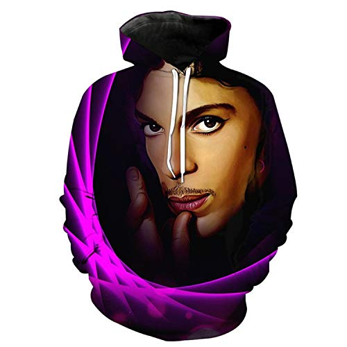 Prince Rogers Nelson 3D Hoodie for Women