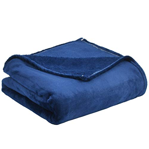 'N/A' Mantas Súper Suaves para Sofá,Mantas para Cama de Franela (150 × 200 cm) Azul,Fácil De Limpiar - Extra Suave Cálido,para Cama,Sofá,Niños y Adulto