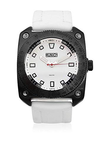 Munich Reloj Analógico para Unisex Adultos de Cuarzo con Correa en Caucho MU+121.7A