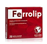 Ferrolip™ - integratore di ferro microsomiale | Biodisponibilità migliore | No sapore metallico | Ottima...