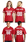 Custom 2 Sided Football Jerseys for Men & Women - Make Your OWN Jersey T Shirts & Customized Team Uniforms