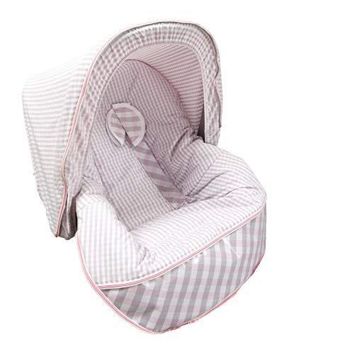 Babyline Summer - Colchoneta para silla grupo 0, color rosa