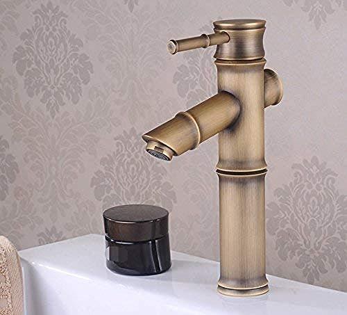 Wasserhahn Alle antiken Kupferkugel Wasserhahn europäischen Retro Becken Wasserhahn heiß und kalt Wasserhahn.