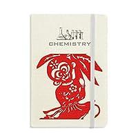 中国の伝統的な窓の花の猿 化学手帳クラシックジャーナル日記A 5