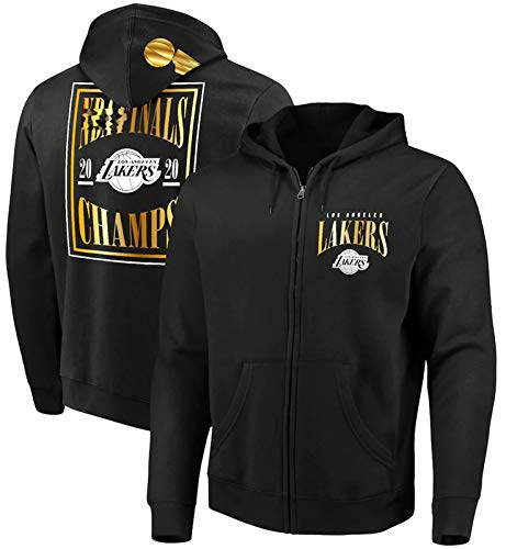 Lakers Finals Hoodies - Lakers Champion Pullover Basketball Uniform Fans Training Trikots F-M