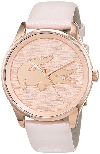Lacoste - Reloj Análogo clásico para Mujer de Cuarzo con Correa en Cuero 2000997