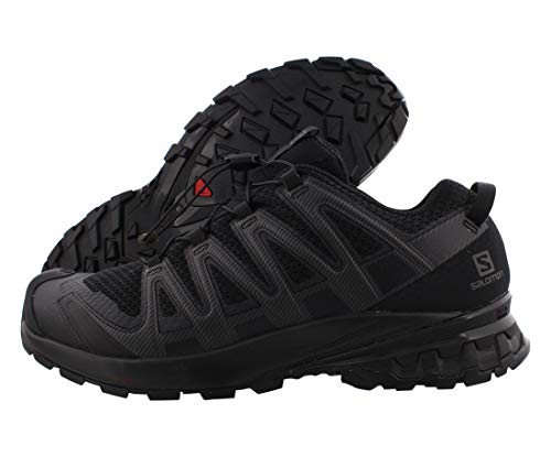 SALOMON Speedcross 4 GTX, Scarpe da Trail Running Uomo, Nero (Black/Black/Black), 41 1/3 EU