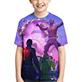 Wendy Maurice Tra-vis Scott T Shirts Kids Youth Crewneck Fashion 3D Print Short Sleeve Tee for Boys and Girls, Black3, Medium
