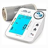 SIMBR Tensiomètre Bras Électronique Professionnel Mémoire de 256 pour 2 Utilisateurs, USB et...