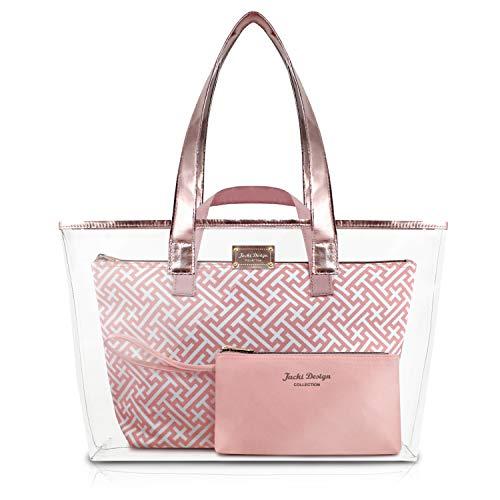 Jacki Design Diamantes 3 Pc Tote Bag Set