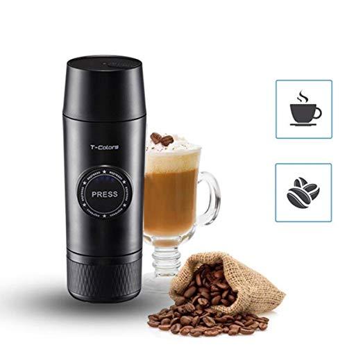 Cafetera, 2 en 1 cápsula de polvo y tierra del café express de Mini portátil fabricante caliente y frío Extracción USB eléctrico de la máquina de café