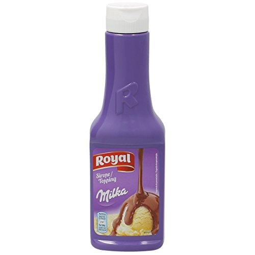 Royal - Sirope Milka de Chocolate con Leche - Botella de 300 g