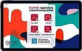 HUAWEI MatePad 10,4 Zoll, 2K FullView Bildschirm, Wifi Tablet-PC, Huawei Share, eBook Modus, 4 Speaker, Android 10.0, 4 GB RAM, 64 GB ROM, ohne Google Play Store, Midnight Gray