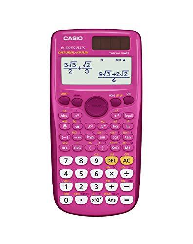 Casio fx-300ES PLUS Calculadora científica, rosa