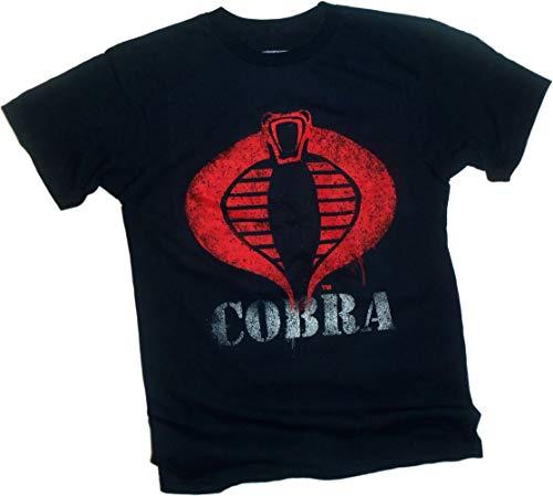 Hasbro Herren Cobra-Logo-Farbe-G.I. Joe T-Shirt, Klein