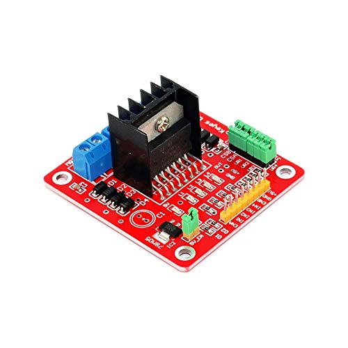 Compatibele Vervangings Smart Electronics L298N Stepper DC Motor Driver Shield Expansion Development Board for Arduinos DIY Car Robot Dual H Bridge Accessory