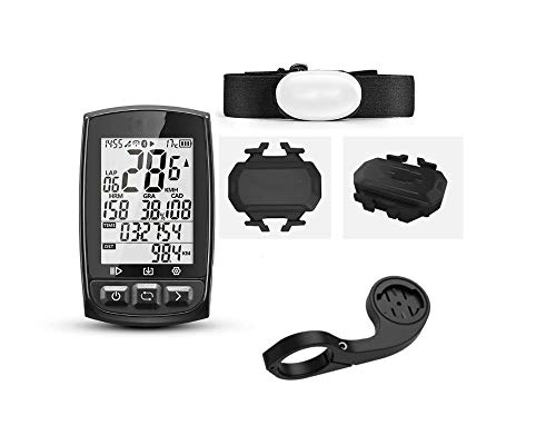 YUNDING odómetro Gps Ciclismo Inalámbrico Ipx7 Impermeable Bicicleta Cronómetro Digital Ciclismo Velocímetro Ant+ Bluetooth 4.0