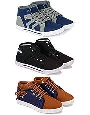 Bersache Men's Sneaker (Set of 3 Pairs)