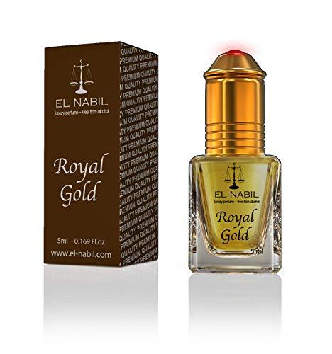Royal Gold 5ml Parfum Duft - El Nabil Misk Musk Moschus Parfümöl für HERREN & DAMEN - Oil Attar Scent