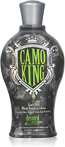 Devoted Creations CAMO KING Black Bronzing Lotion - 12.25 oz.
