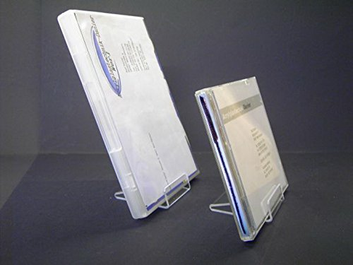 10 Stück DVD / CD Aufsteller,CD Ständer,Warenpräsenter