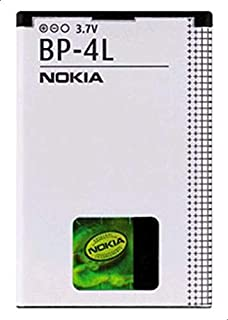 Nokia Bp-4l E90 Mobile Phone Battery (white And Black)