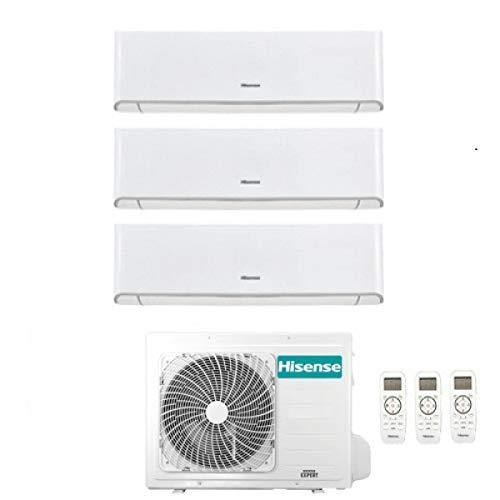 Climatizzatore Trial Split Inverter 9000+9000+12000 Btu, Gas R32