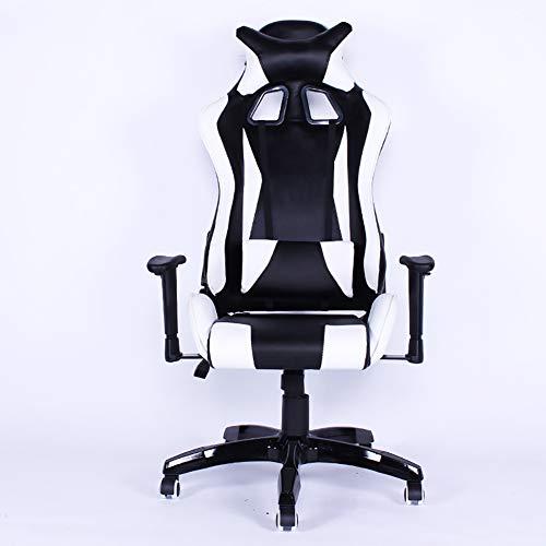 E-Sports stoel/Computer stoel bureaustoel/Ergonomische stoel/Lift Racing stoel bureaustoel Modern design size Kleur: wit