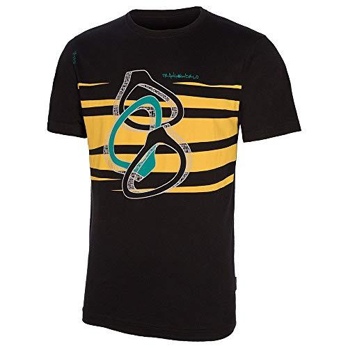 Trango Rings T-Shirt pour Homme Noir Taille L