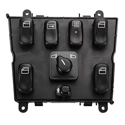 Interruptor de control de ventana eléctrico Best Thumbs Up, control de interruptor de ventana principal de coche OEM 1638206610