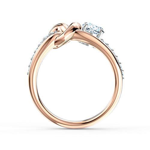 SWAROVSKI Lifelong Heart Ring, White, Mixed Metal Finish (5535407)