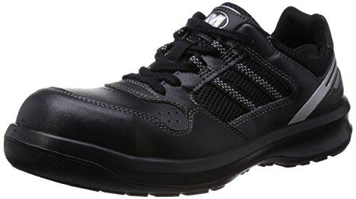 [ミドリ安全] 安全作業靴 JSAA認定 グリーン購入法適合 プロスニーカー G3690 メンズ ブラック JP 25.5(25.5cm)