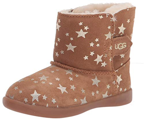 UGG I Keelan Stars Bootie, Chestnut, Size 02/03