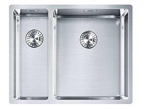 Franke Box BXX 260/160-34-16 Edelstahl-Spüle glatt Spülbecken Küchenspüle Einbau