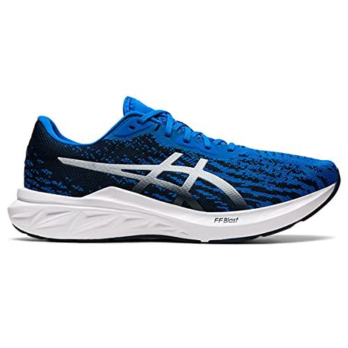 ASICS DYNABLAST 2, Zapatillas de Running Hombre, Azul eléctrico y Blanco, 44...