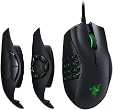 Razer Naga Trinity Gaming Mouse: 16,000 DPI Optical Sensor - Chroma RGB Lighting - Interchangeable Side Plate w/ 2, 7, 12 Button Configurations - Mechanical Switches